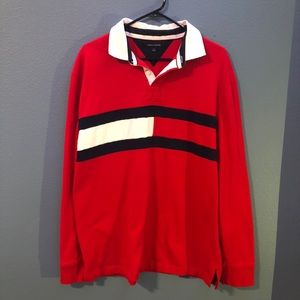 Tommy Hilfiger Shirts - Tommy Hilfiger Retro Longsleeve Polo